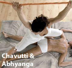 Chavutti & Abhyanga at Ishavilas