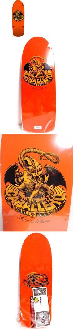 Decks 165944: Powell Peralta Steve Caballero Og Dragon Orange Skateboard Deck 10 -> BUY IT NOW ONLY: $89.99 on eBay!