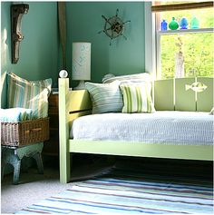 House of Turquoise bedroom