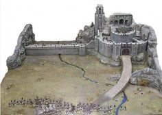 Helm's Deep scenery & crafting guide (Onyx's Hobby)