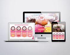 "Website for ""Get Me Ice Cream"" Portfolio Website, Working On Myself, Popcorn Maker, New Work, Ice Cream, Behance, Gallery, Check, Blog"
