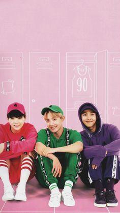 Rap Line Wallpaper ♡ Namjin, Jhope, Taehyung, Bts Big Hit, Movies And Series, Rap Lines, The Scene, Bts Lockscreen, About Bts