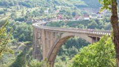 Tara canyon bridge, Montenegro