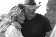 cute couple Tim and Faith