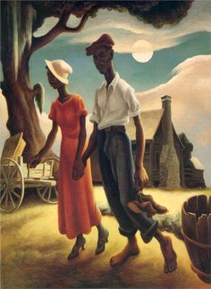 Romance by Thomas Hart Benton 1932