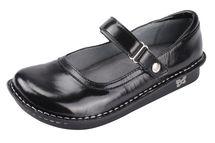 Belle Black Crinkle Shoe