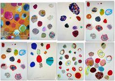 les petites têtes de l'art: Histoire courte d'une goutte, Béatrice Alemagna