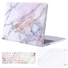 Laptop Hard Cover White Spring Romantic Flower Fragrant Plastic Hard Shell Compatible Mac Air 11 Pro 13 15 A1708 MacBook Pro Case Protection for MacBook 2016-2019 Version
