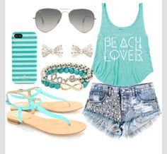 Cute outfits for summer time  I love it