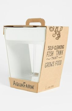 Aquasprouts 39 s stylish aquaponic garden lets you grow fresh for How do you clean a fish tank