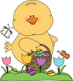 Spring easter. Best clipart images