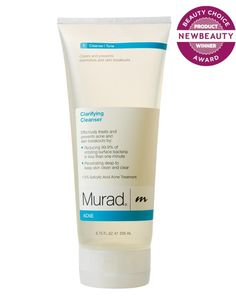 """Murad Clarifying Cleanser as """"Best Cleanser for Oily and Acneic Skin"""" (@NewBeauty Magazine Beauty Choice Award 2013)"""