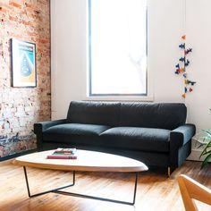 Garrison Sofa by Gus Modern - Lekker Home Sleeper Sofa, Sectional Sofa, Sofas, Couch, Home Furnishing Stores, Home Furnishings, Modern Furniture Toronto, Inspired Homes, Interior Design