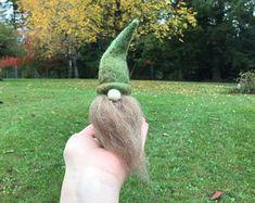 Naald vilten Gnome Lowan de Gnome-figuur
