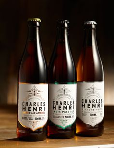 Bière Charles Henri / Packaging on Behance
