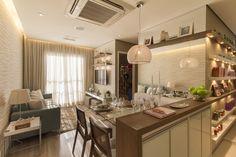 Living ampliado apartamento de 2 dormitórios do Follow