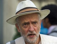The surge in support for Jeremy Corbyn has triggered a 'horrific week' for Labour, senior figures warned today. It comes after a leaked poll suggested he was winning the leadership race. Jeremy Corbyn, Leadership, Guys, Hat, Chip Hat, Sons, Hats, Boys, Sorting Hat