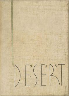 1935 Desert, University of Arizona Yearbook