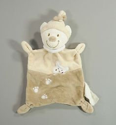 Doudou-ours-plat-velours-beige-Nicotoy