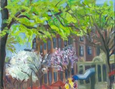 Original paintings from the Boston series are now for sale on etsy.com  Newbury Street