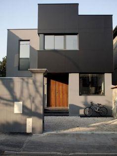 Facade grise anthracite recherche google cr pi for Facade maison gris souris