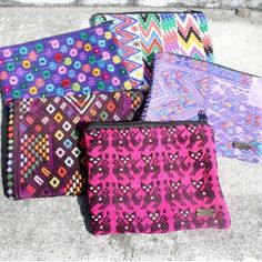 "HP 03/28!Handmade Boho Makeup Bags!✌️ JUST IN!Handmade in Guatemala Boho Makeup Bags Using Recycled Textiles!✌️How cool are these bags and how cool is that?!✌️Each bag is unique, + look exactly as pictured. Just pick which bag in the picture that you would like to purchase! They are made with great care and dedication as well as a high level skill set! Each bag measures 8"" L x 6.5"" W. Perfect for festival season to throw in your backpack or sling!Support Women Supporting Themselves!✌️…"