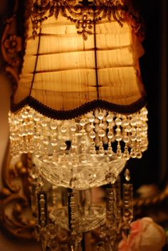 Jennelise: Another Night Shabby Chic Lighting, I Love Lamp, Green Copper, At The Hotel, Lamp Shades, Wall Sconces, Glow, Cottage, Ceiling Lights