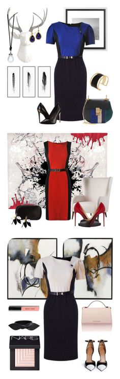 """""""Style Look of Zareen Dresses"""" by zareen-canada on Polyvore featuring Chloé, Rachel Zoe, CB2, Christian Louboutin, Alexander McQueen, Marni, Givenchy, Yves Saint Laurent, NARS Cosmetics and Bobbi Brown Cosmetics"""