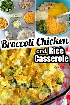 Cheesy Chicken and Rice Casserole is a great family dinner that you can mix up and have in the oven in practically no time. Just 8 ingredients including chicken, cheese, rice, and broccoli, then top the casserole with buttered Corn Flakes for a delicious crunchy topping--this will be one of your new go-to dinner recipes! Cheesy Broccoli Rice Casserole, Chicken Broccoli Rice, Easy Chicken And Rice, Fresh Broccoli, Cheese Rice, Beer Cheese Soups, Great Dinner Recipes, Buttered Corn, Cheesy Chicken Enchiladas