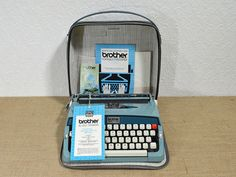 Refubished Typewriter Brother Opus 888 with Case by ReCreative85