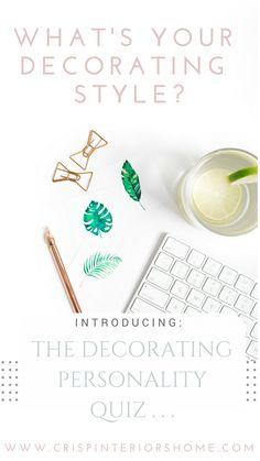Interior Decorating Style Quiz // Find Your Decorating Style Today! |  Spaces // Bohemian Interior Design Ideas | Pinterest | Interior Decorating  Styles, ...