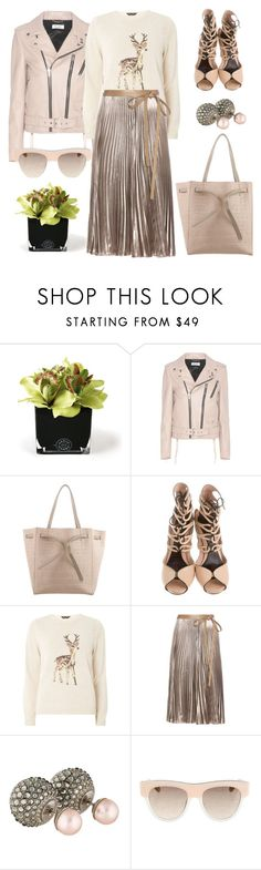 """""""A bit of Bambi"""" by pensivepeacock ❤ liked on Polyvore featuring Hervé Gambs, Dorothy Perkins, Valentino, Christian Dior and STELLA McCARTNEY"""