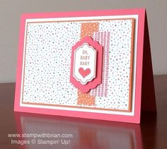 Happy Notes, Labels Framelits, Stampin' Up!, Brian King, FabFri66