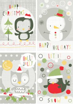cute christmas Copyright Elizabeth Stirling Designs