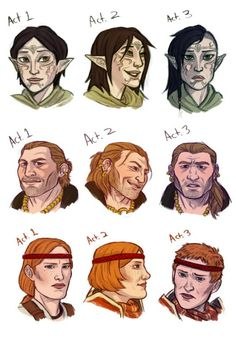 If their hair changed throughout the years