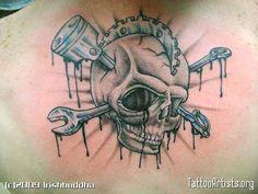 Gallery For > Gear Head Tattoo Sleeve