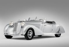 Classic Cars  :   Illustration   Description   Horcha, 1938 853A Special Roadster with a body by Erdmann & Rossi,