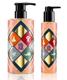 Shampoing à l'huile, 400ml, huile de camélia pour cheveux, 150ml, Shu Uemura x Maison Kitsuné