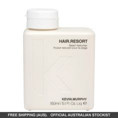 Enriched with Marine Extracts and Tangerine Essences KEVIN.MURPHY Hair.Resort gives body, fullness and volume to hair nourishing hair while you style.