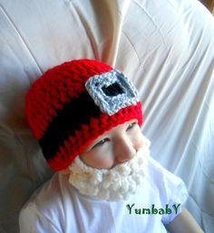 Beanie Beard - Santa