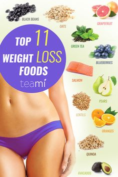 top 11 weight loss foods