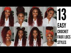 Video Shows 13 Styles & Reasons Why You Should Get Crochet Goddess Faux Locs This Holiday ⋆ African American Hairstyle Videos - AAHV Box Braids Hairstyles, Braided Hairstyles Tutorials, Protective Hairstyles, Crochet Goddess Faux Locs, Faux Locs Goddess, Goddess Braids, Crochet Faux Locs Styles, Crochet Braid Styles, Faux Locs Long