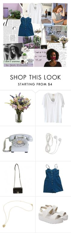 """""""let me hold your hand, we can talk about our favorite bands // TWO YEARS? ❁"""" by relephant ❤ liked on Polyvore featuring Mason's, Nearly Natural, American Vintage, Chanel, Urban Outfitters, Windsor Smith, laezypeach, TalisLittleTag and revolutionedlook"""