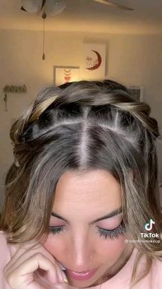Easy Hairstyles For Long Hair, Braids For Long Hair, Braided Hairstyles, Oval Face Hairstyles, Hair Tips Video, Hair Videos, Front Hair Styles, Medium Hair Styles, Hair Style Vedio