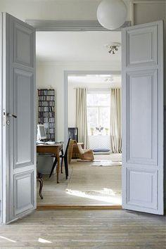 Doorway: A doorway to the office