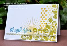 Stampin' Up ideas and supplies from Vicky at Crafting Clare's Paper Moments: My new favourite Stampin' Up set!