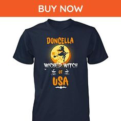 Doncella Wicked Witch Of Usa. Halloween Gift - Unisex Tshirt Navy M - Holiday and seasonal shirts (*Amazon Partner-Link)