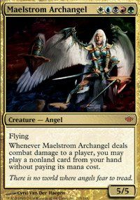 Magic: the Gathering - Maelstrom Archangel - Conflux by Wizards of the Coast.Mythic Rare.