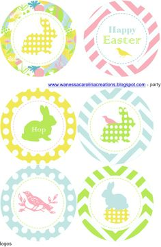 DIY Easter via http://wanessacarolinacreations.blogspot.com