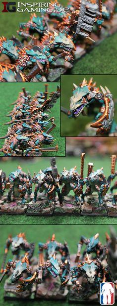 Lizardmen Saurus Warrior